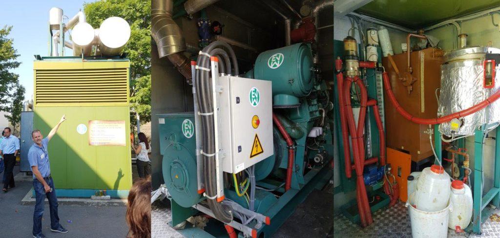 bio diesel process montage