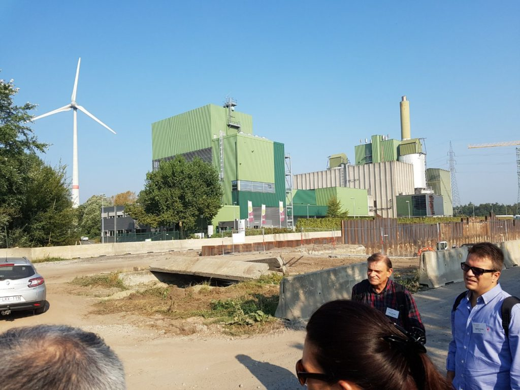 biofuel / windpower plant