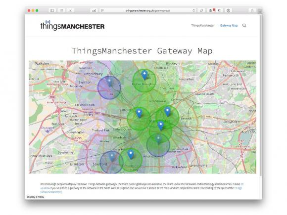 Current access points in Manchester