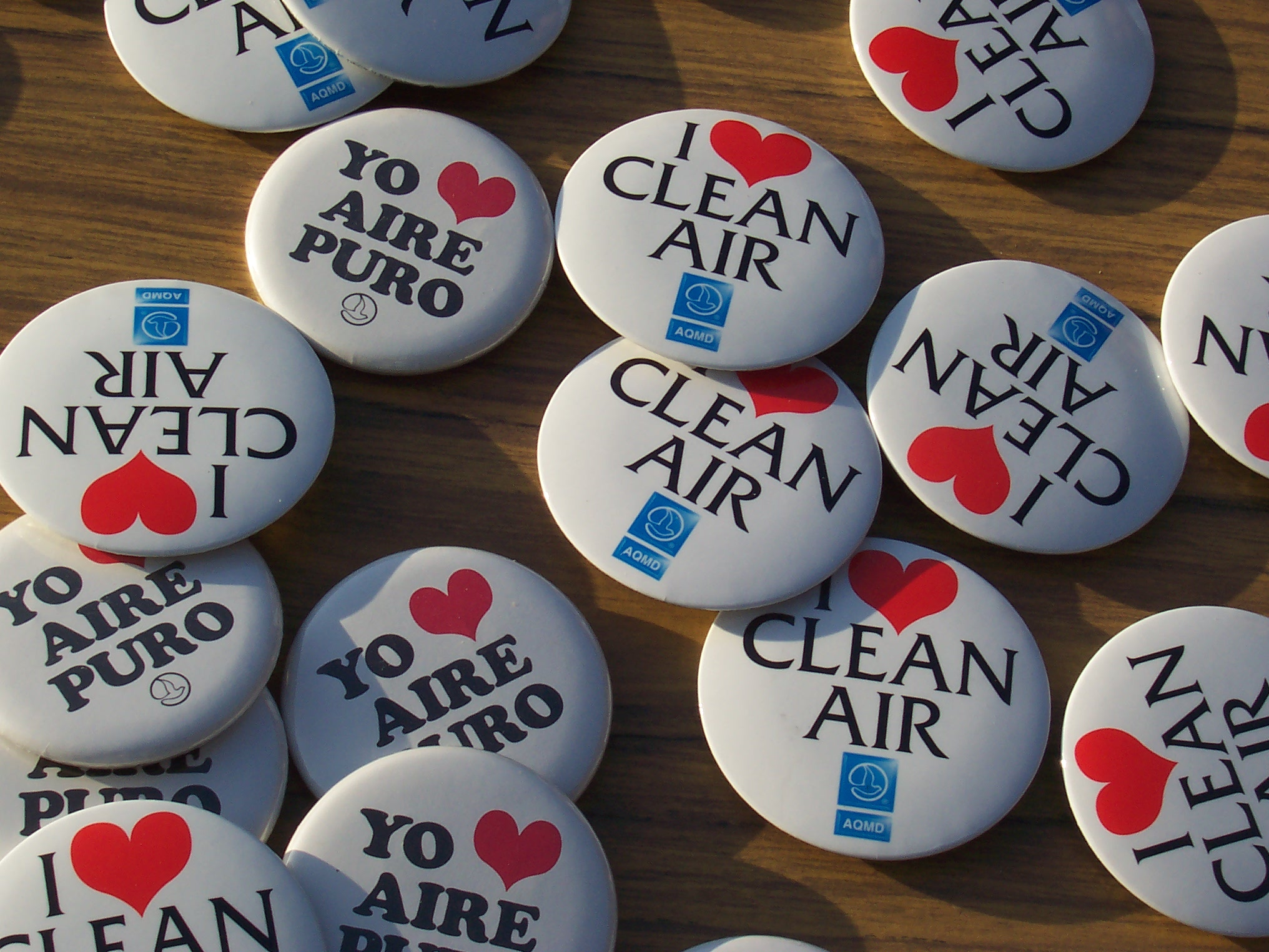 Clean Air Buttons