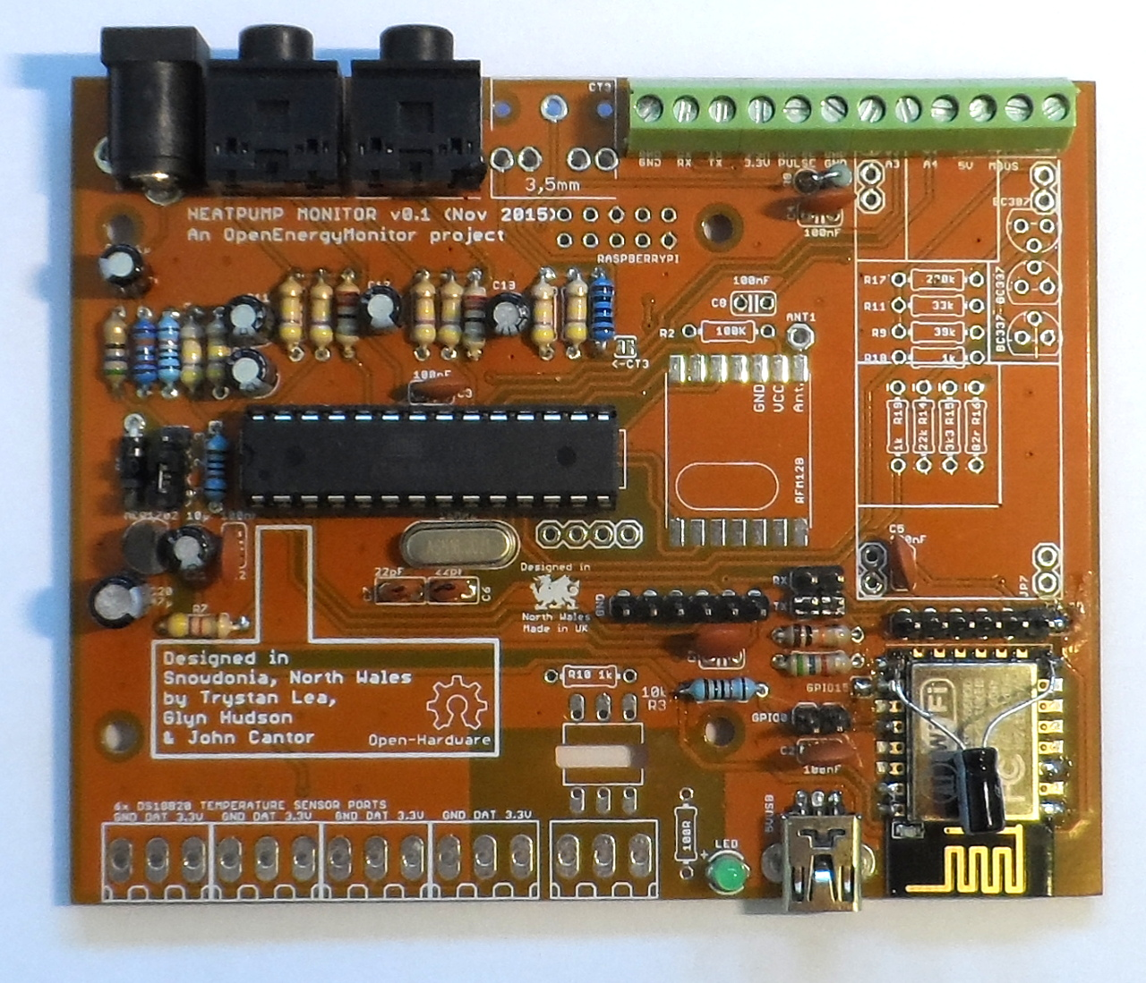 Next Ecohome Lab Build You Own Home Energy Monitor System Carbon Coop Circuit Energymonitor V2